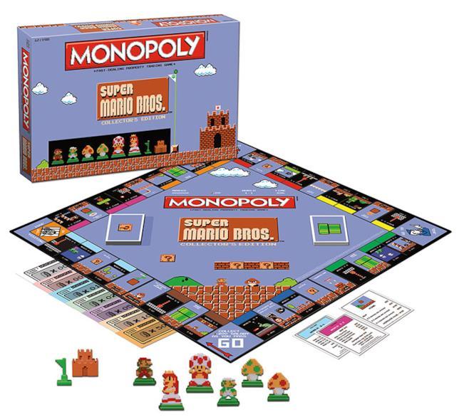 Foto del Monopoly di Mario Bros.
