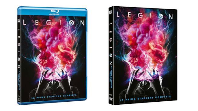 I cofanetti di Legion - Stagione 1 in Blu-ray e DVD