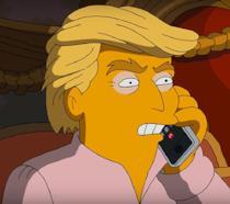 La profezia di Trump Presidente si avvera, la reazione dei Simpson su Twitter
