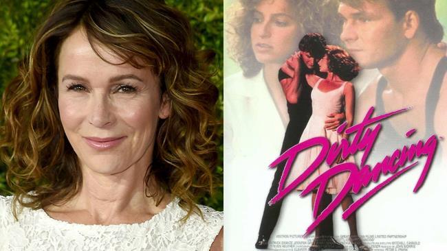 Jennifer Grey e poster Dirty Dancing