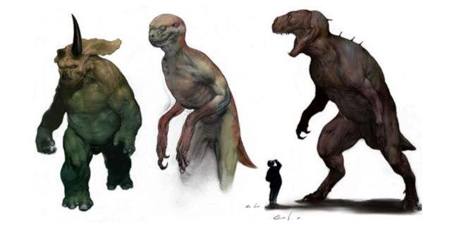 Dinosauri modificati geneticamente con il DNA umano