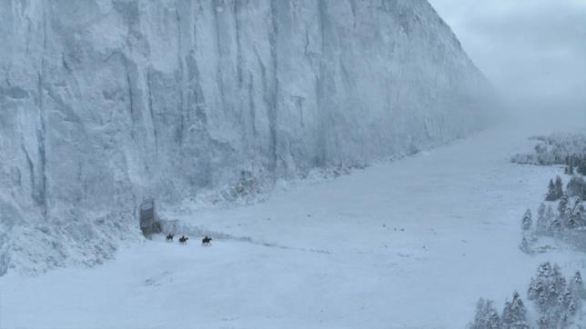 Solo ghiaccio e neve al di là della Barriera