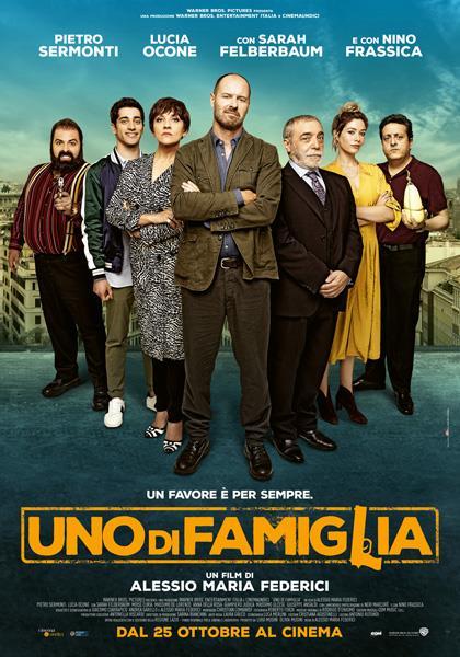 Uno di famiglia, la locandina del film con Lucia Ocone