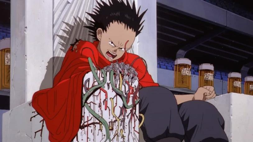 Akira anime Tetsuo poteri