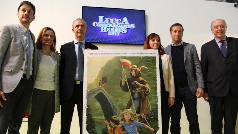 Lucca 2017, annunciate le prime novità in conferenza stampa