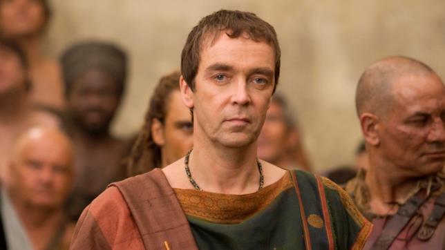 John Hannah in Spartacus