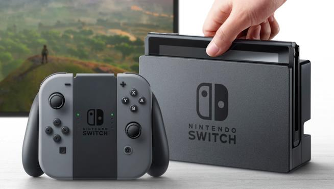 Nintendo Switch è in vendita da marzo 2017