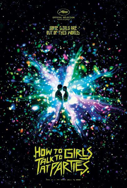 Poster ufficiale di Come parlare alle ragazze alle feste