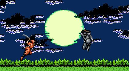 Uno scontro in pixel da Ninja Gaiden