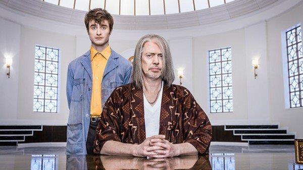 L'attore Daniel Radcliffe e Steve Buscemi