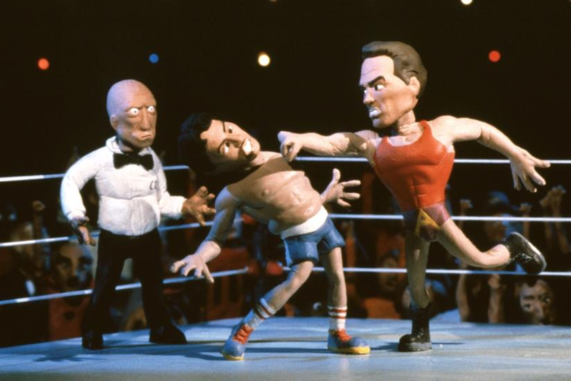 Un episodio di Celebrity Deathmatch