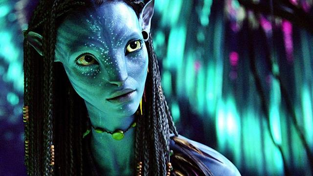Zoe Saldana in una scena del primo Avatar diretto da James Cameron