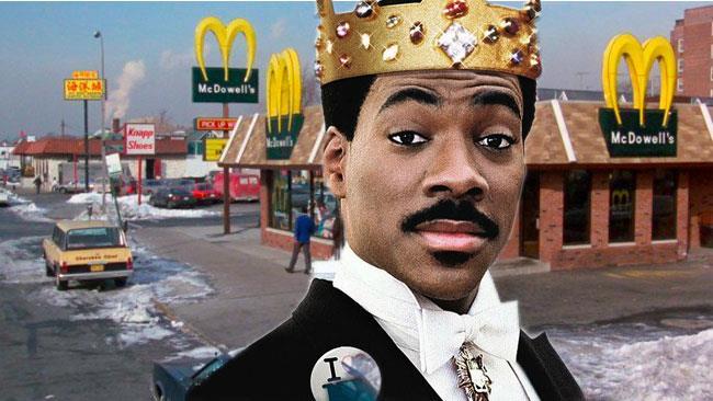 Il ristorante de Il Principe Cerca Moglie