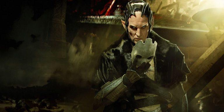 Un'immagine promozionale di Malekith per The Dark World