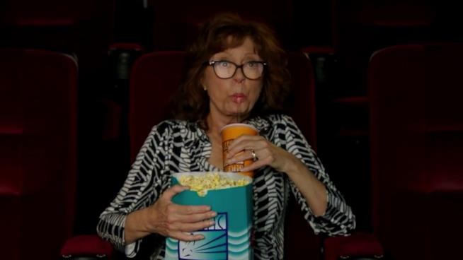 Susan Sarandon al cinema in The Meddler