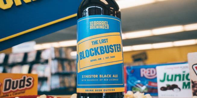 Blockbuster: ecco la birra che omaggia l'ultimo negozio USA