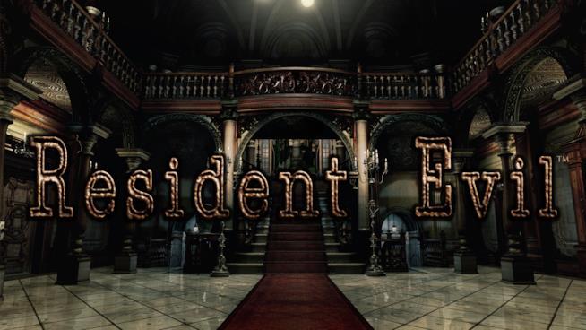 Il famoso ingresso della magione di Resident Evil