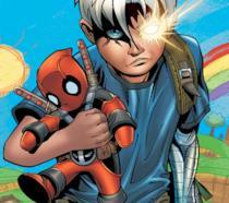 Deadpool e Cable nella versione poco tradizionale di Patrick Zircher