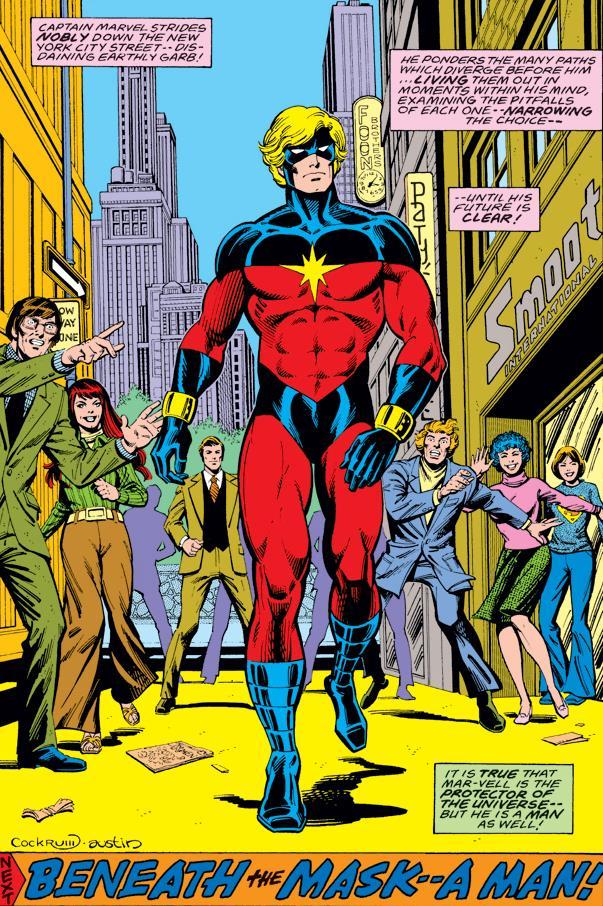 Mar-Vell aka il primo Capitano Marvel