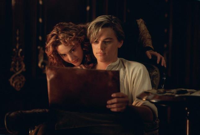 Una scena tratta da Titanic