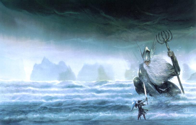 La divinità del mare di Arda, Ulmo