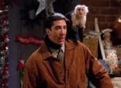 Ross e Marcel in una scena da Friends