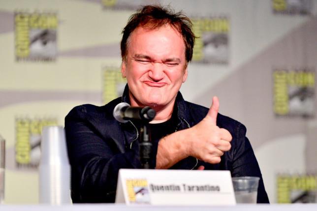 Quentin Tarantino a un evento Comic Con