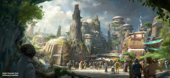 Star Wars Land, concept dell'area