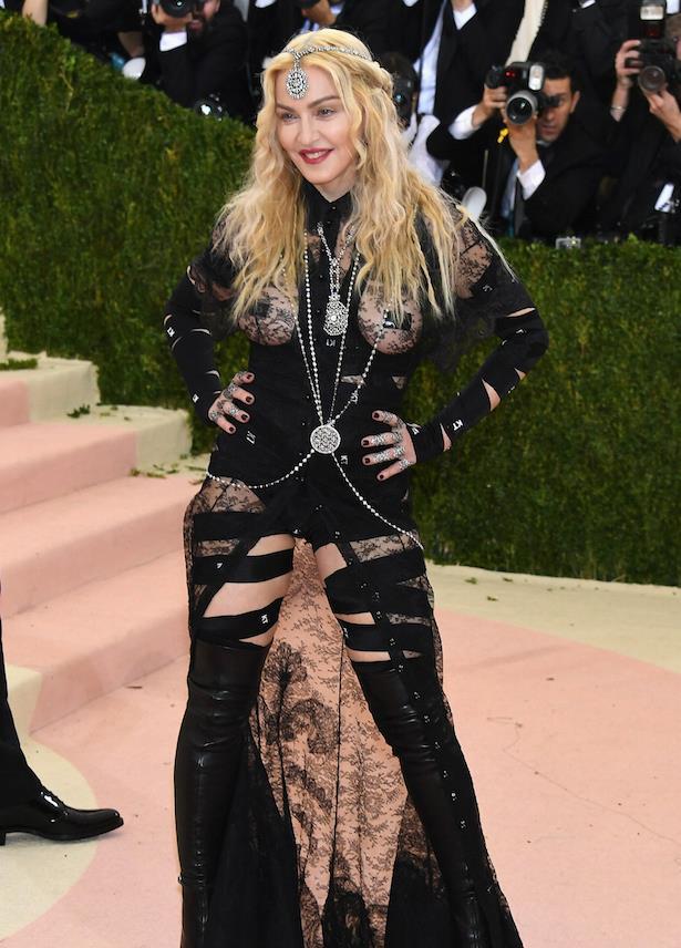 Il look di Madonna al MET Gala 2016
