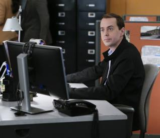 Tim McGee in una scena di N.C.I.S.