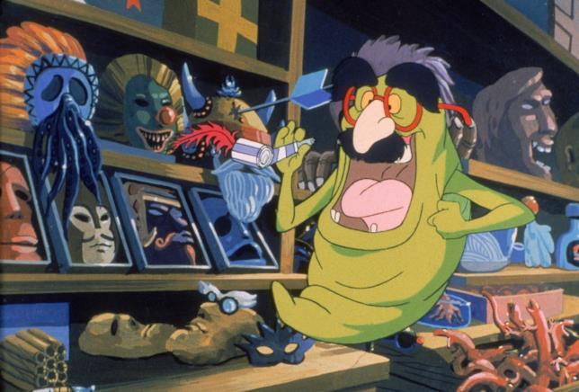 L'ectoplasma Slimer dei Ghostbusters