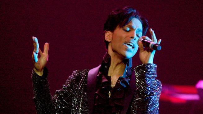 Prince durante un concerto