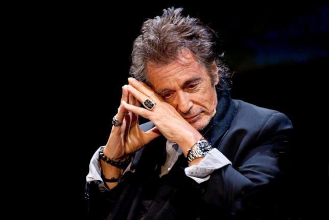 Al Pacino durante una sua ospitata allo show An Evening with...