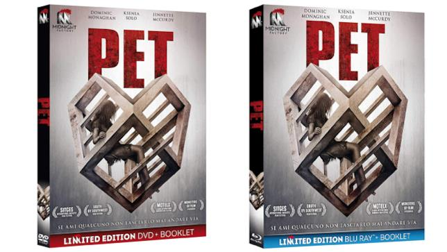 Pet - Home Video - DVD e Blu-ray