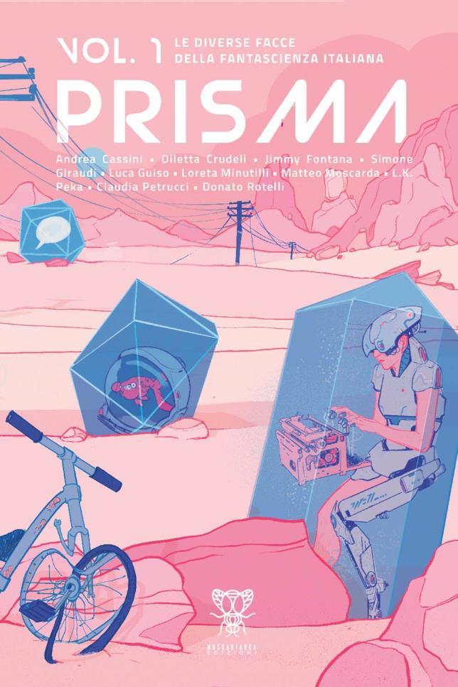 La copertina del primo volume di Prisma