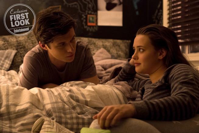 Una scena di Love, Simon tra Simon e la sua amica