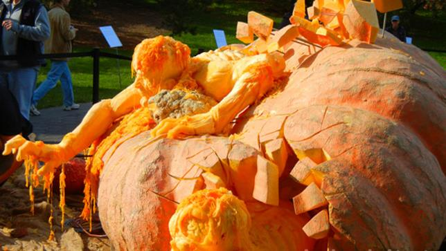 Zucca di Halloween a New York