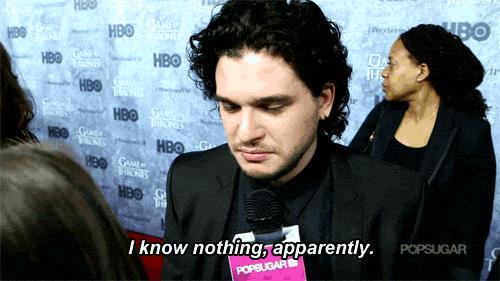 Jon Snow non sa niente, dice