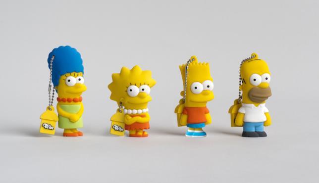 Le penne USB marchio Tribe dedicate ai Simpson