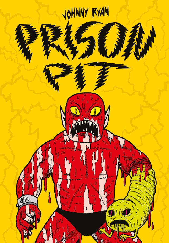 La copertina di Prison Pit