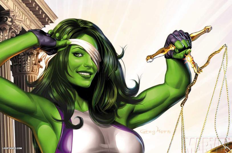 She-Hulk ci ricorda che la giustizia è cieca!