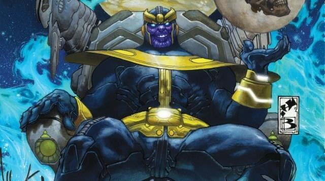 Cover di Thanos Rising