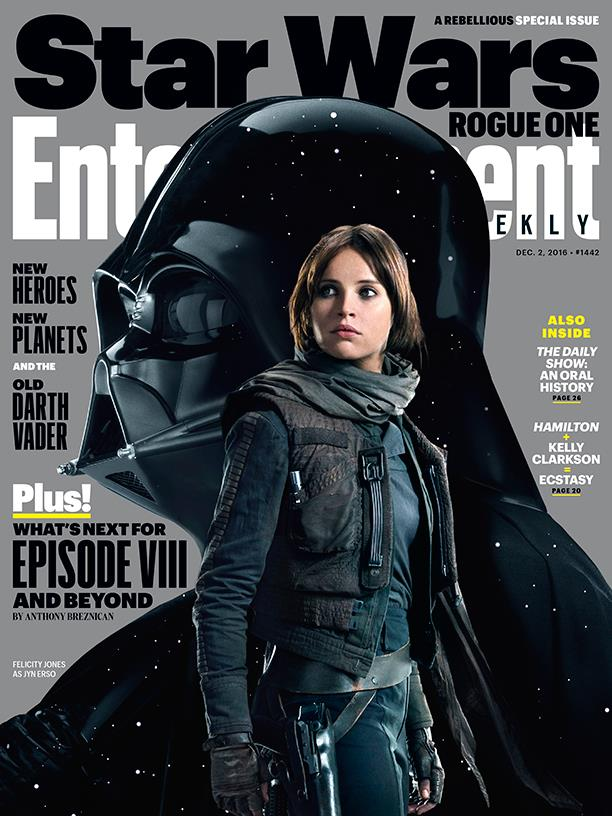 Star Wars: Rogue One sulla copertina di Entertainment Weekly