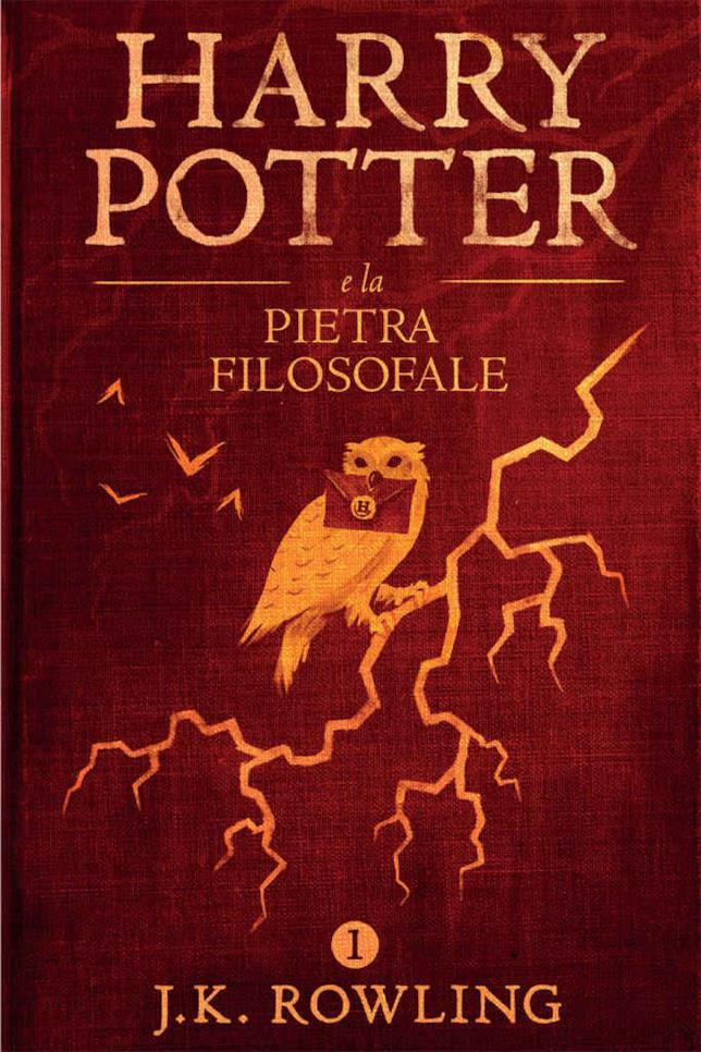 Copertina dell'ebook di Harry Potter e la pietra filosofale