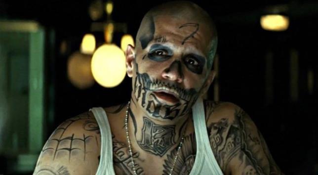 Jay Hernandez, il Diablo in una scena di Suicide Squad