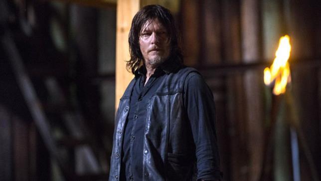 Daryl in una scena della nona stagione