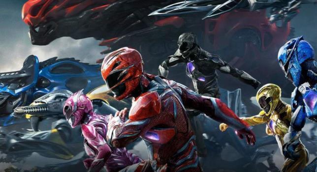 Un'immagine promozionale del film del 2017 dedicato ai Power Rangers