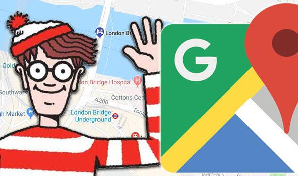Wally è il protagonista di un'inedita caccia a tesoro sull'app Google Maps