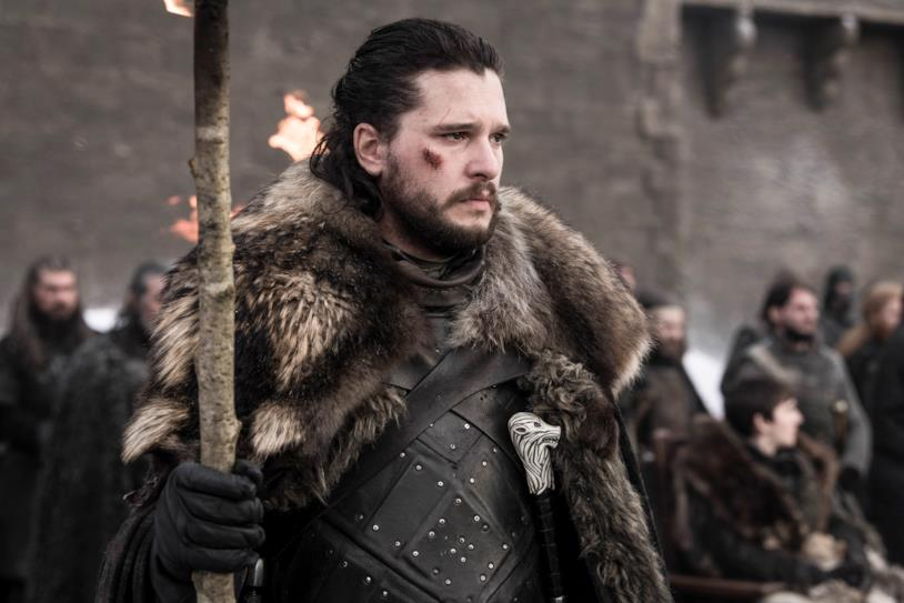 Jon Snow nell'episodio 8x04 di Game of Thrones, The Last of the Starks