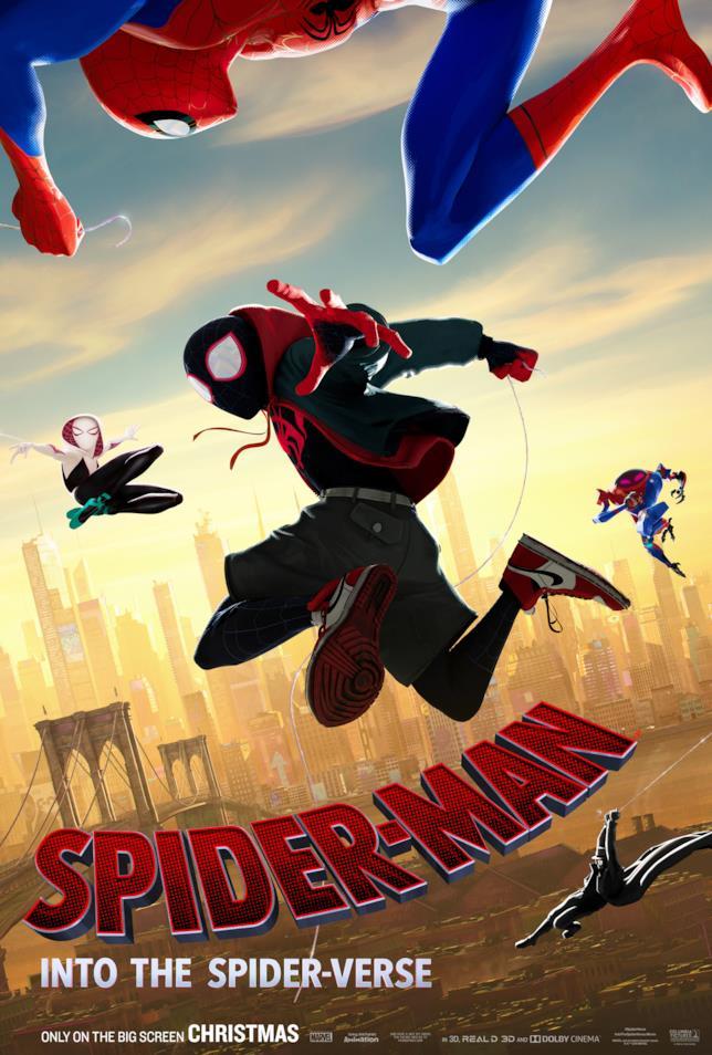 Spider-Man: Un Nuovo Universo arriverà a Natale